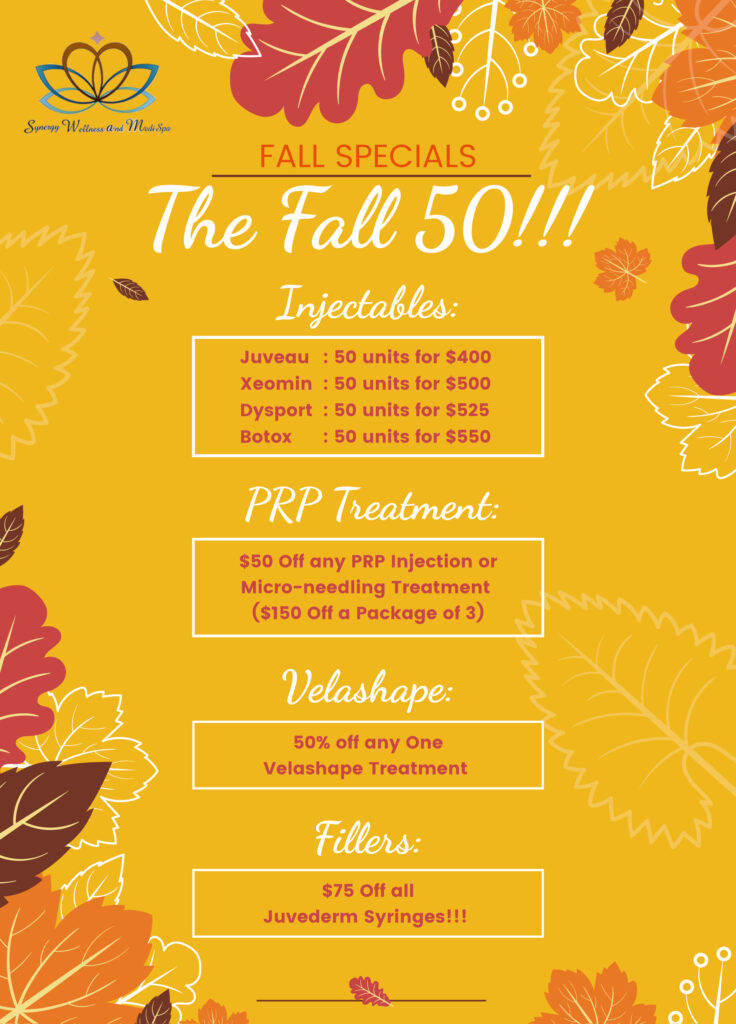 the fall 50 special offers